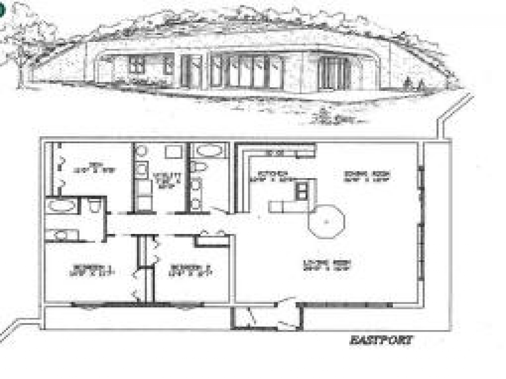 Do It Yourself Cabin Plans Free Small Cabin Plans Small: New Earth Sheltered Homes Earth Sheltered Home Plans