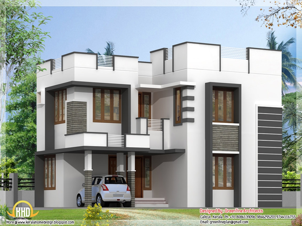 Simple home modern house designs pictures simple slanted for Modern 80s house