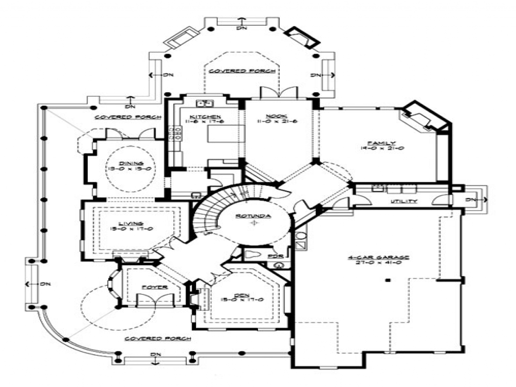 Small luxury house floor plans luxury lofts in new york for New york house plans