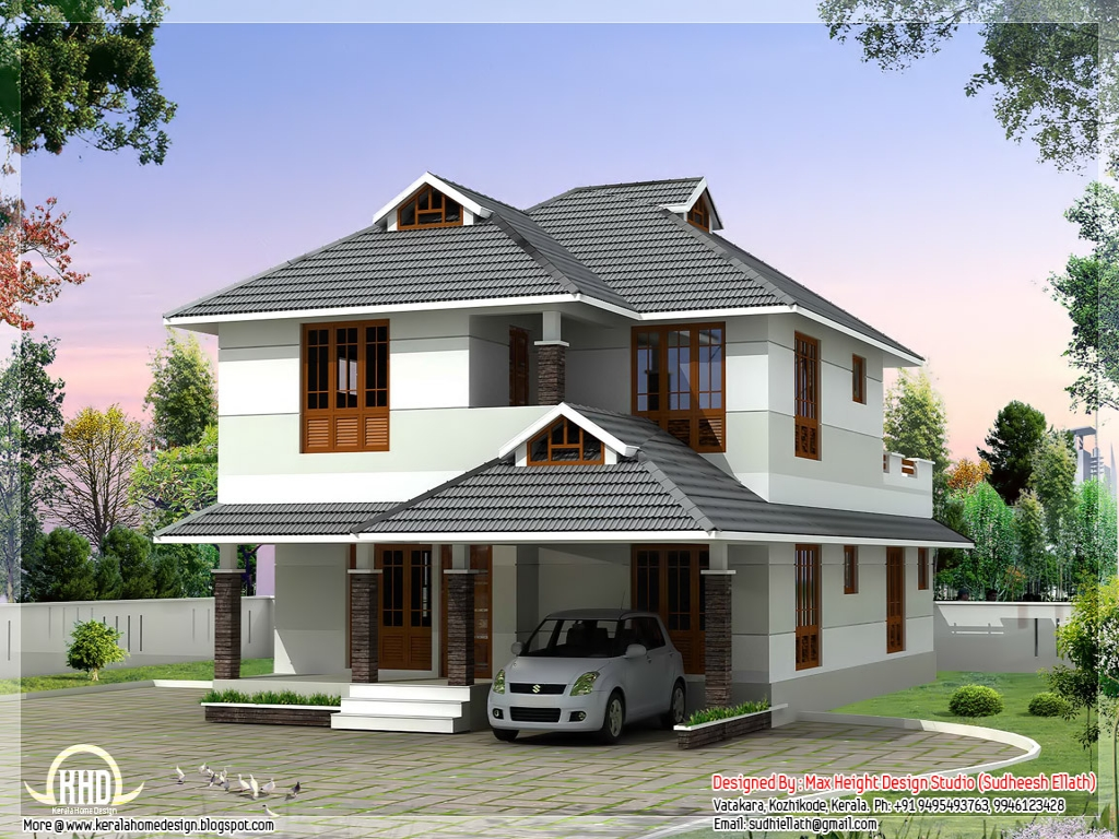 Beautiful 4 bedroom house plan beautiful house design for Beautiful 5 bedroom house plans with pictures
