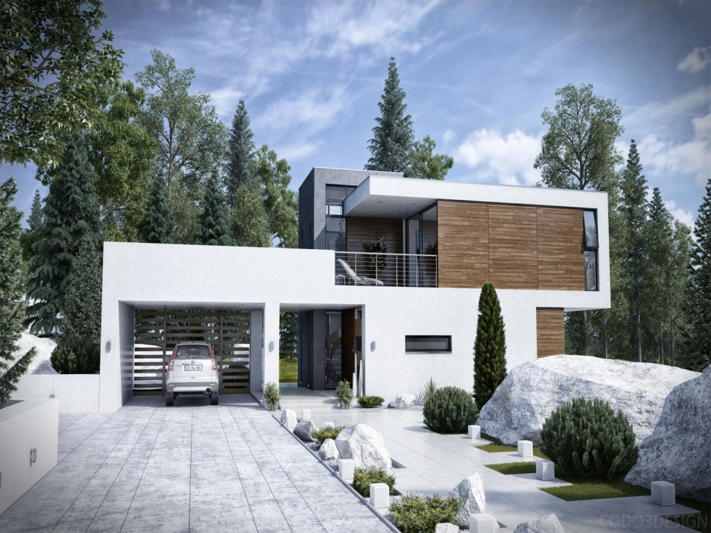 Classic exterior house design modern house exterior design for Classic modern homes