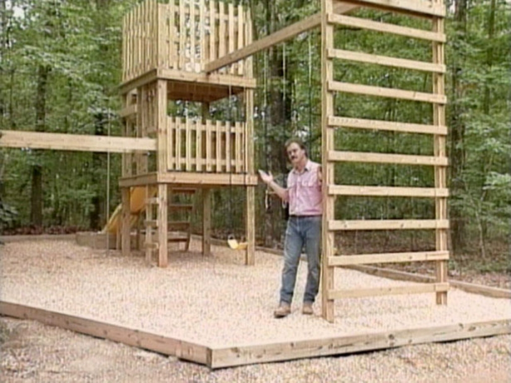 Diy play structure plans homemade backyard play structures for Outdoor structure plans