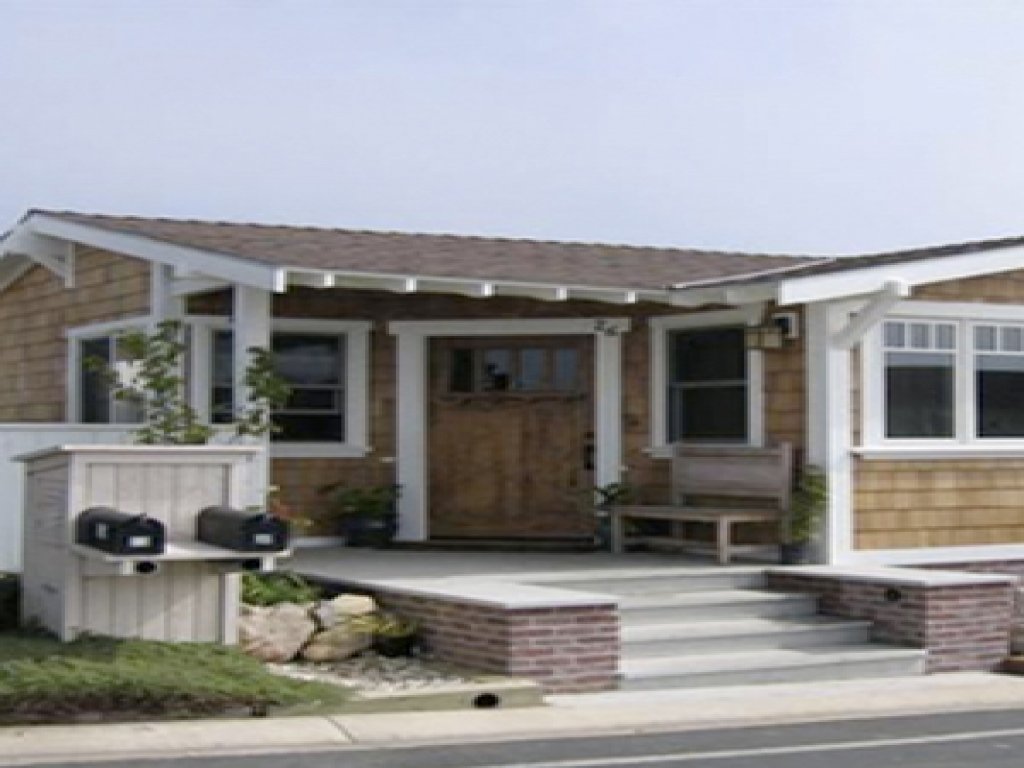Craftsman style modular homes craftsman style mobile homes for Bungalow style modular homes