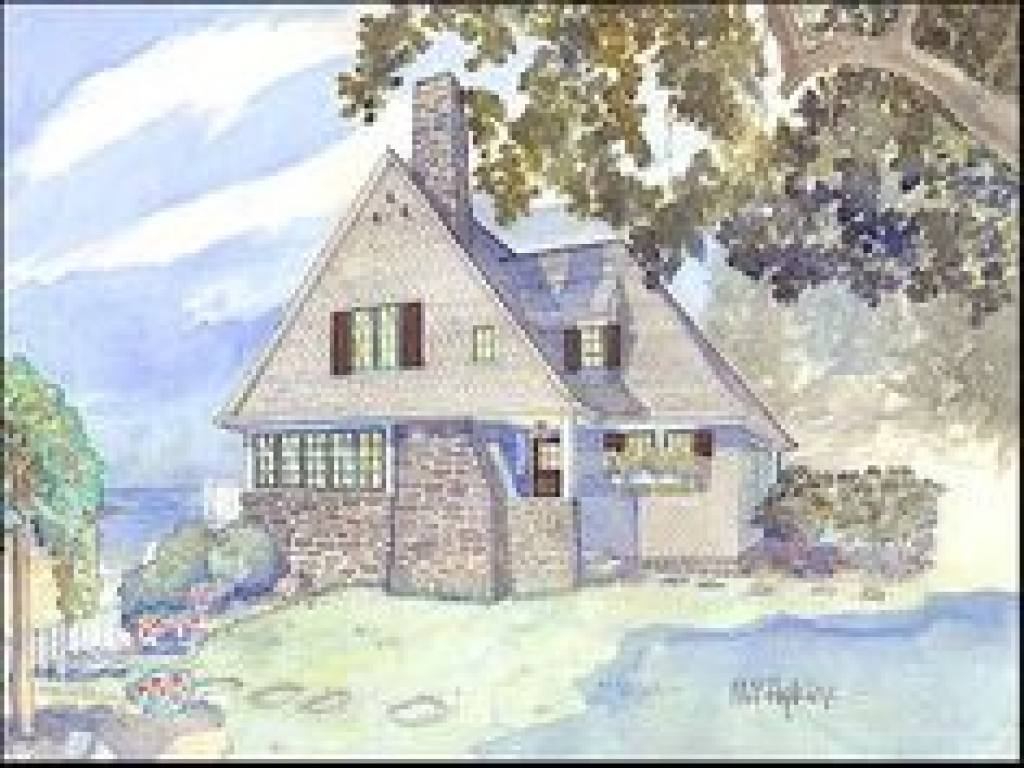 New england style cottage house plan new england cottage for New cottage homes