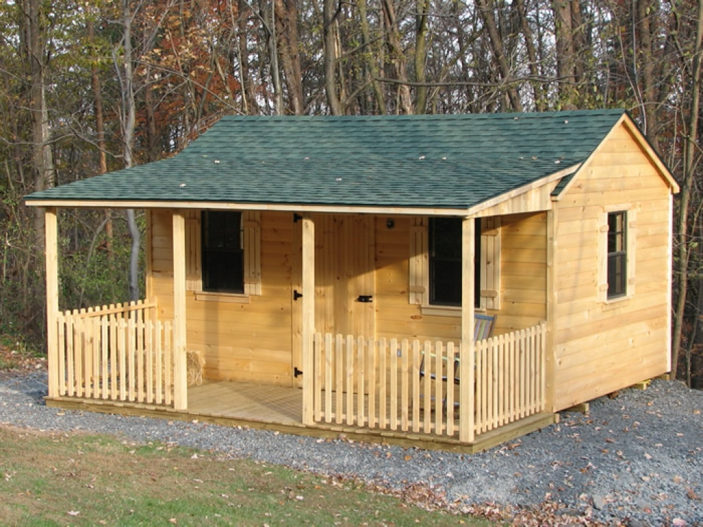Portable Sheds And Cabins Log Cabin Storage Shed Kit