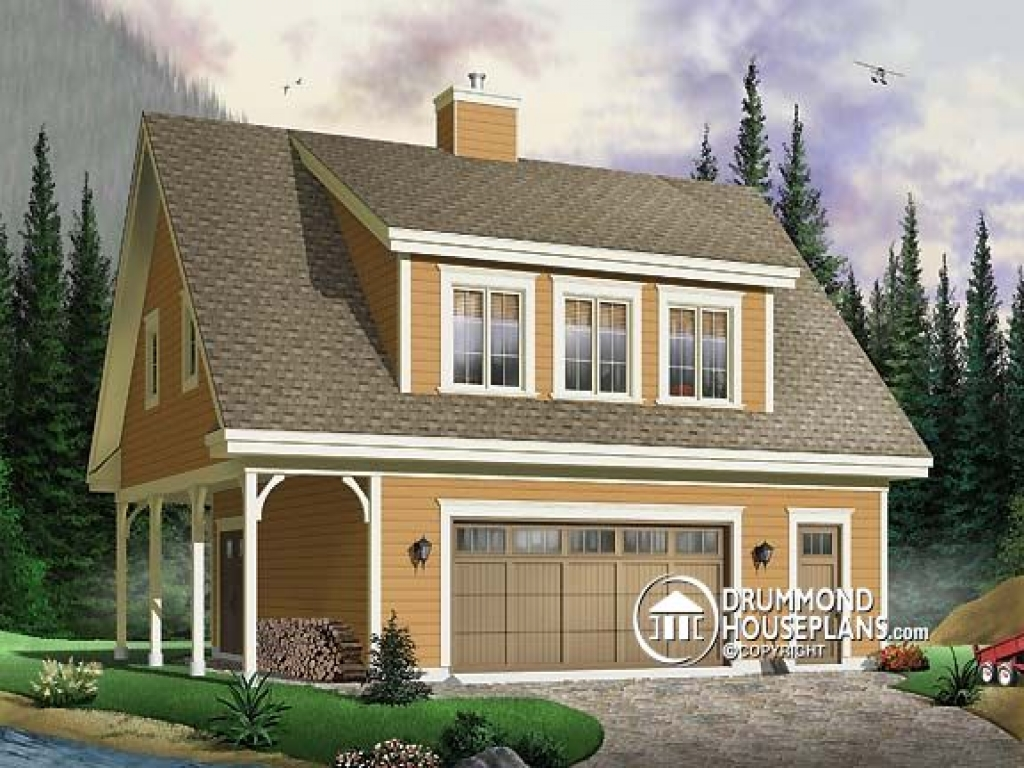 Garage apartment floor plans garage plans with 2 bedrooms for House plans with detached apartment