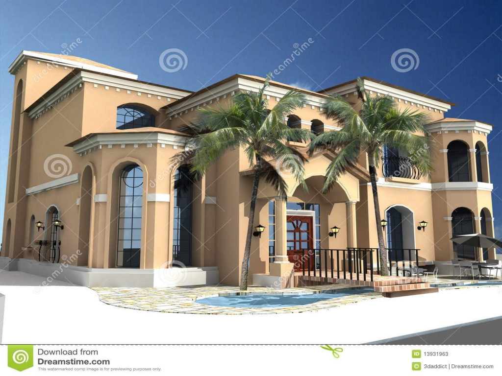 Spanish style homes with courtyards spanish style villa for Spanish style homes with courtyards