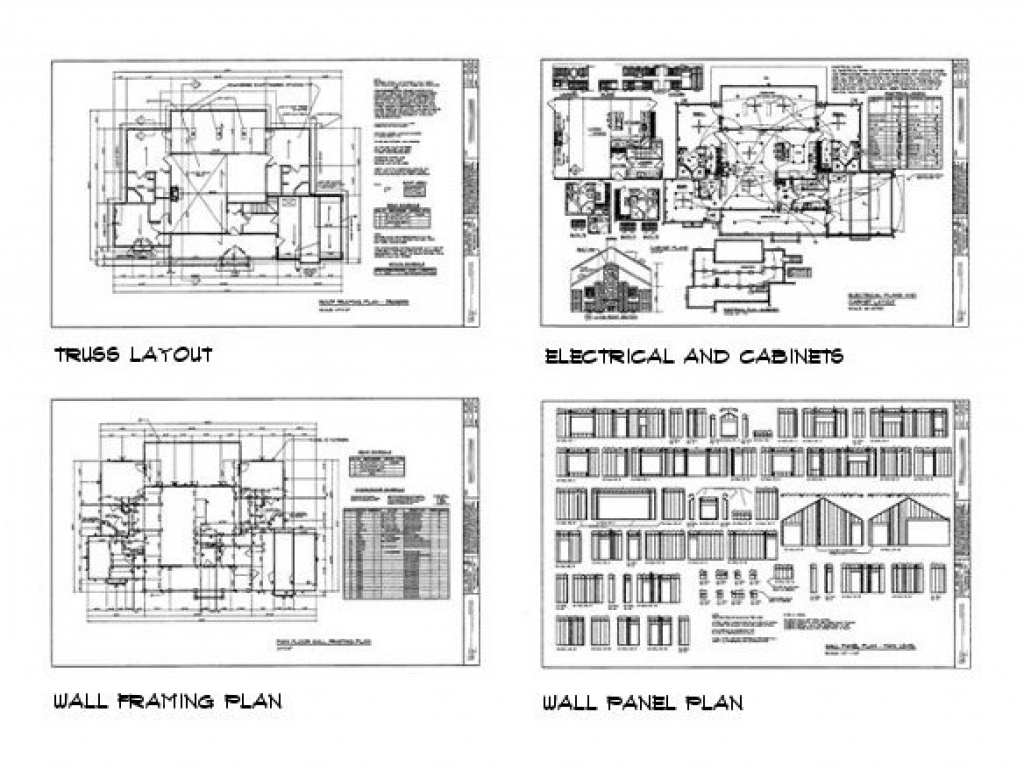 Building construction sample house plans house for Sample building plans