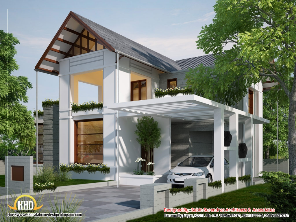Modern european style houses european house plans one for Modern looking houses