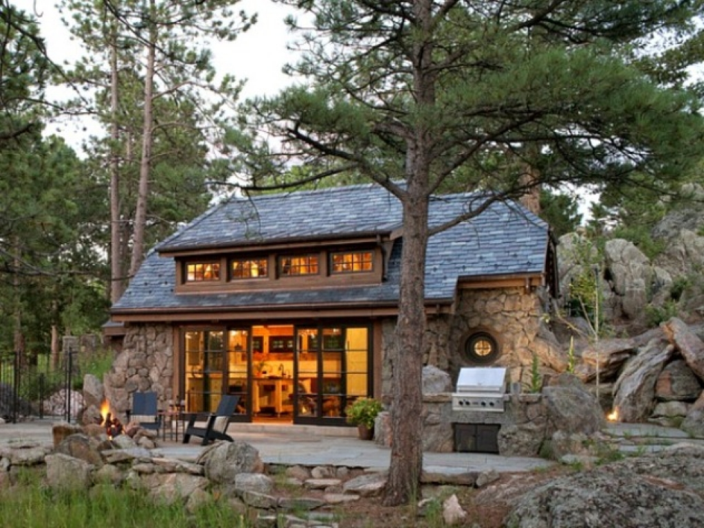 Best Small House Plans Small Stone Cottage House Designs