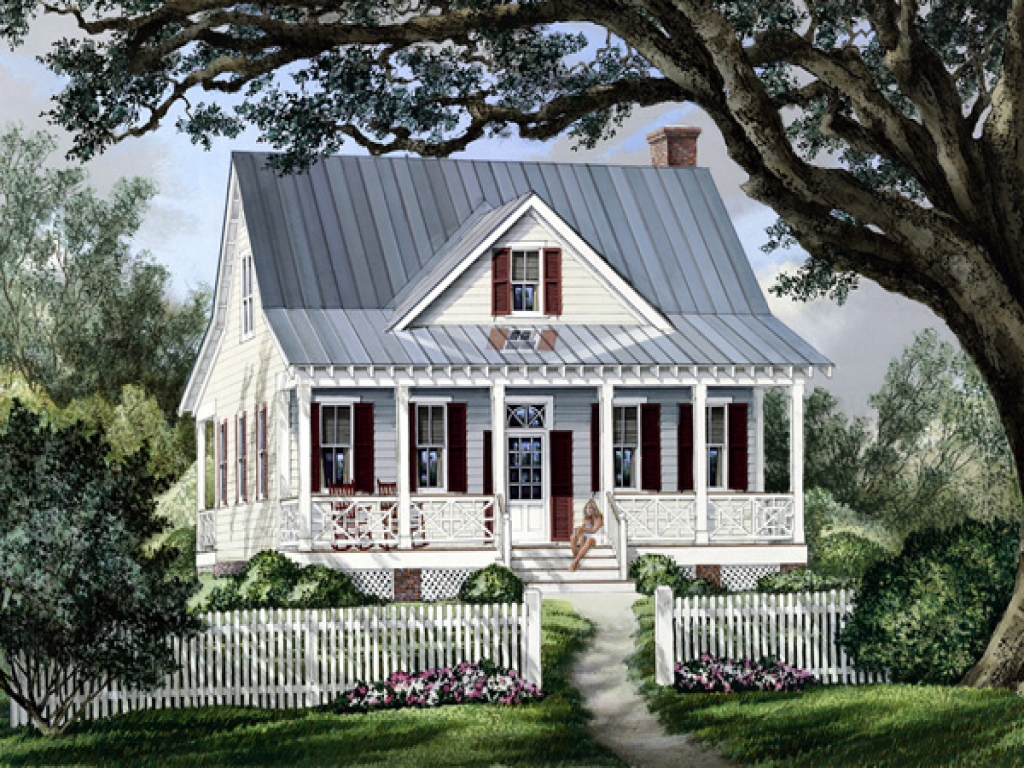 Cottage country farmhouse plan french country farmhouse for Farmhouse cottage house plans
