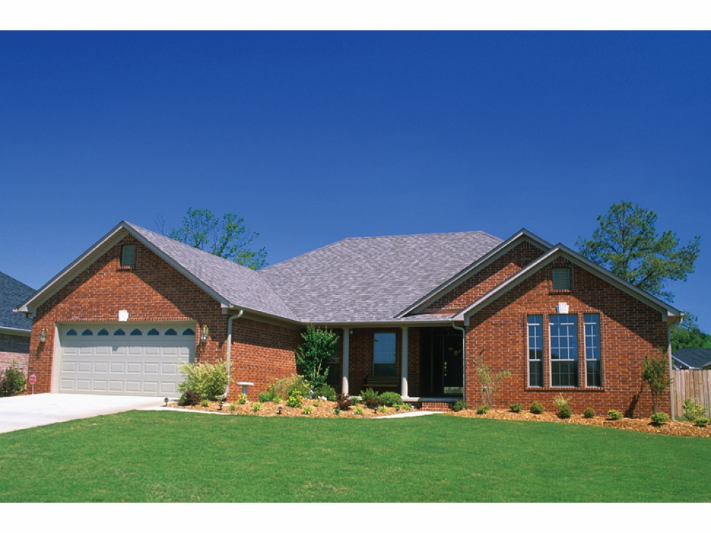 Brick Home Ranch Style House Plans Ranch Style Homes ...