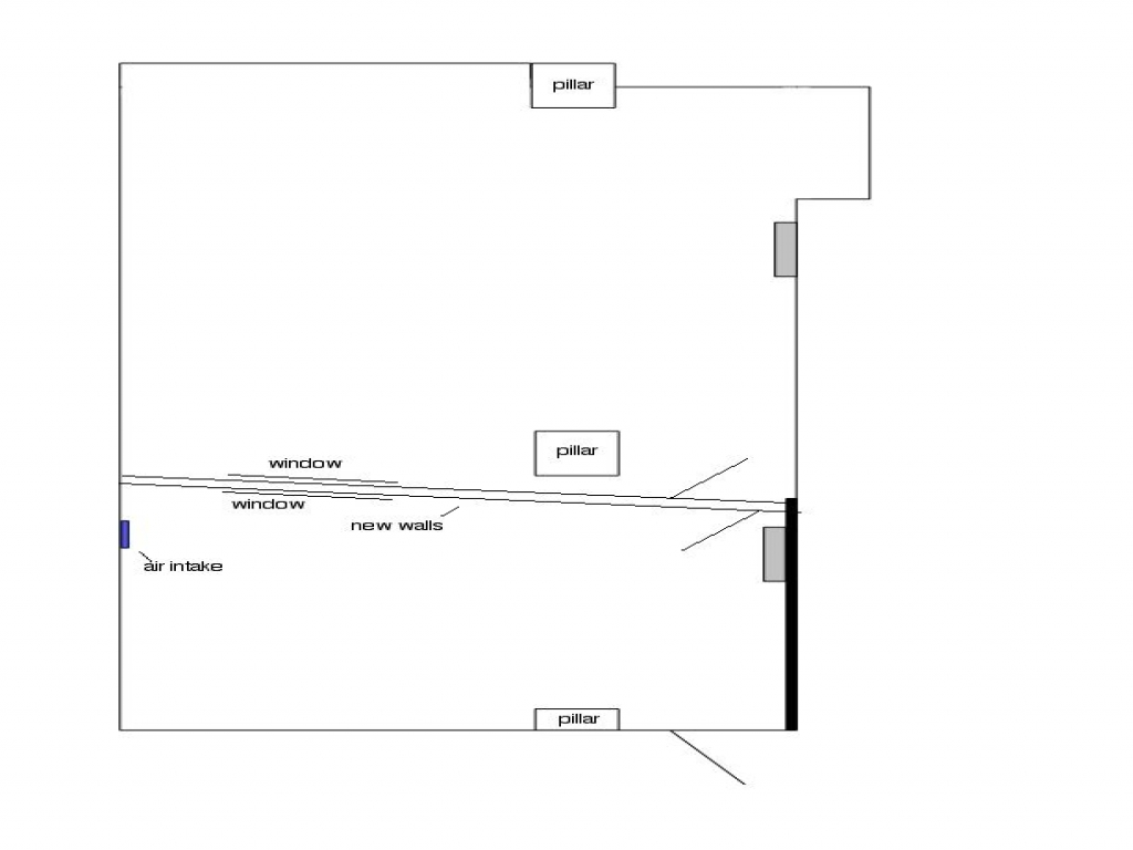 Recording studio floor plans recording studio design plans for Recording studio floor plans architecture