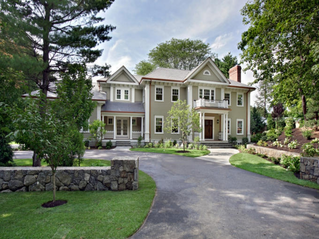 Old colonial houses house envy modern colonial bob 39 s for Colonial contemporary house