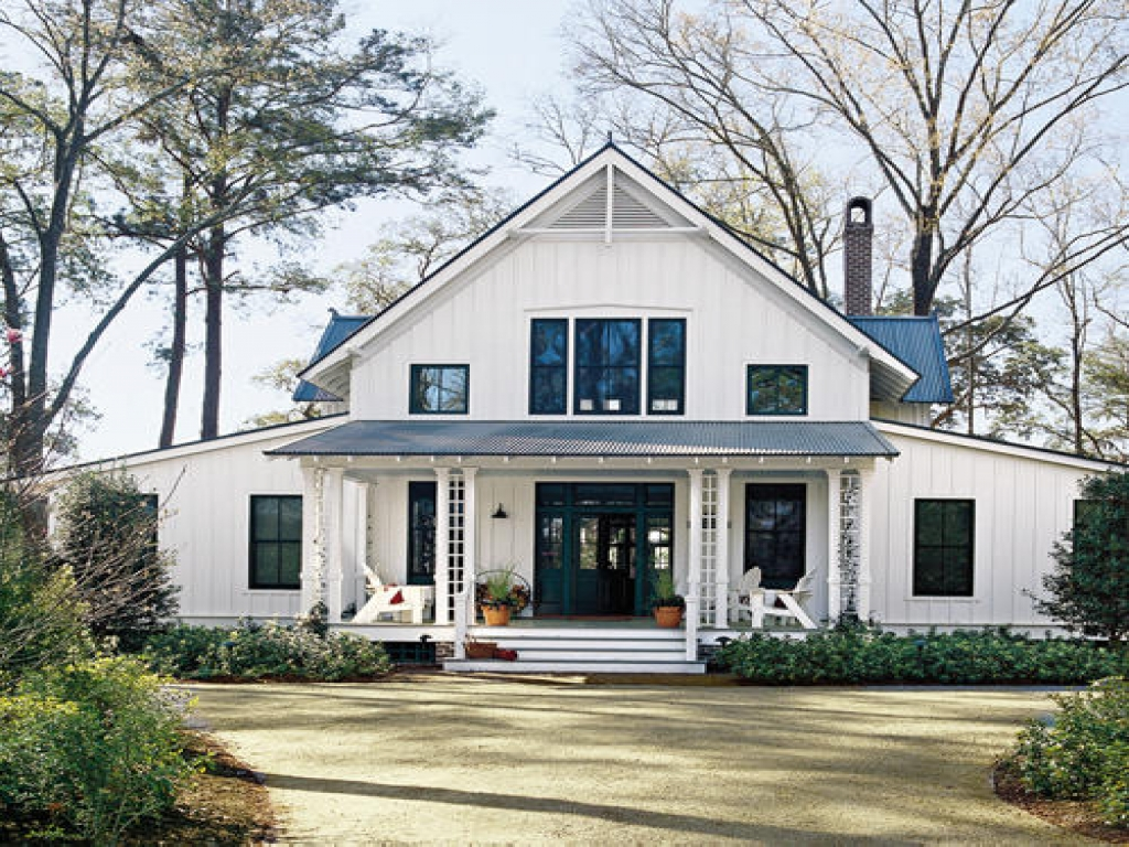 Small cottage plans southern living southern living for Southern style ranch home plans