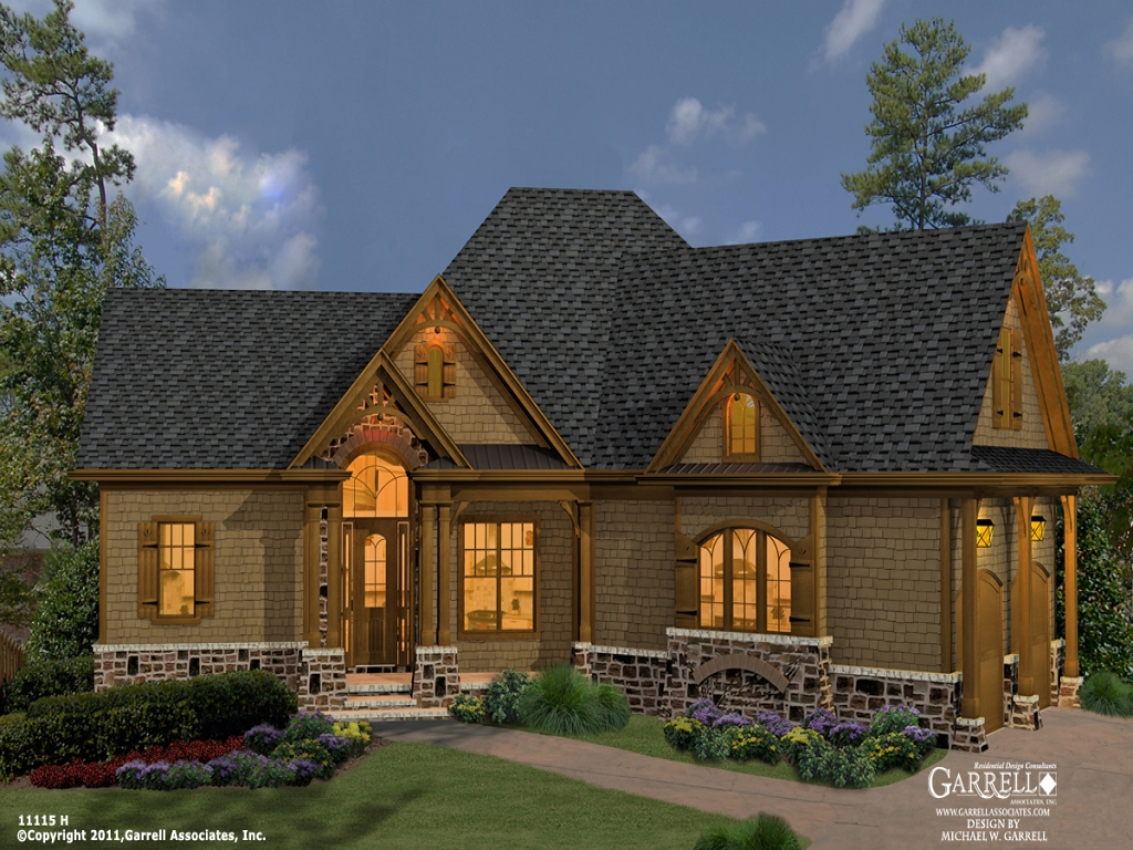 Mountain craftsman home designs mountain craftsman style for Mountain craftsman style house plans