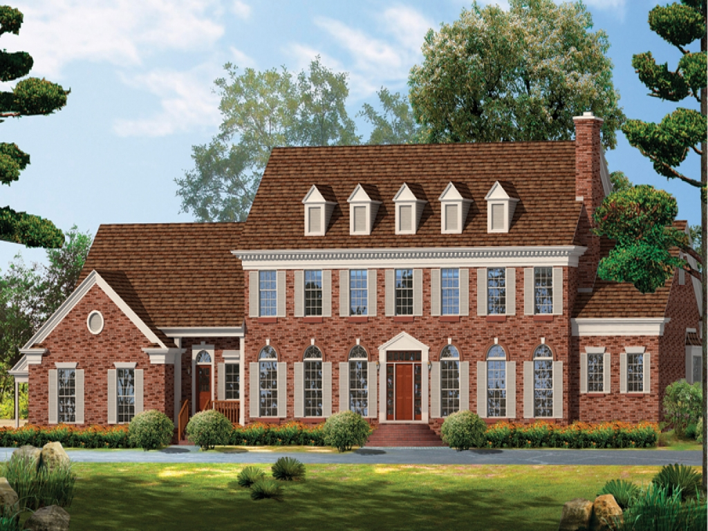 Victorian style house georgian style homes house plans for Georgian style home plans