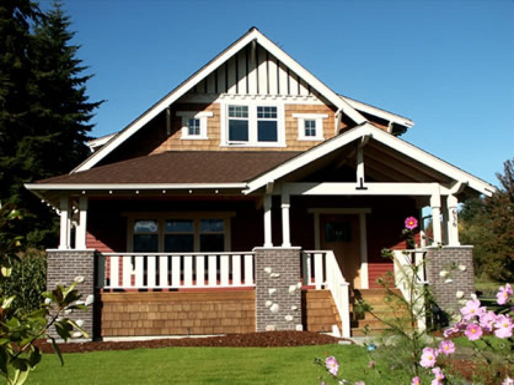 Modern bungalow house plans craftsman bungalow house plans for Craftsman cottage plans