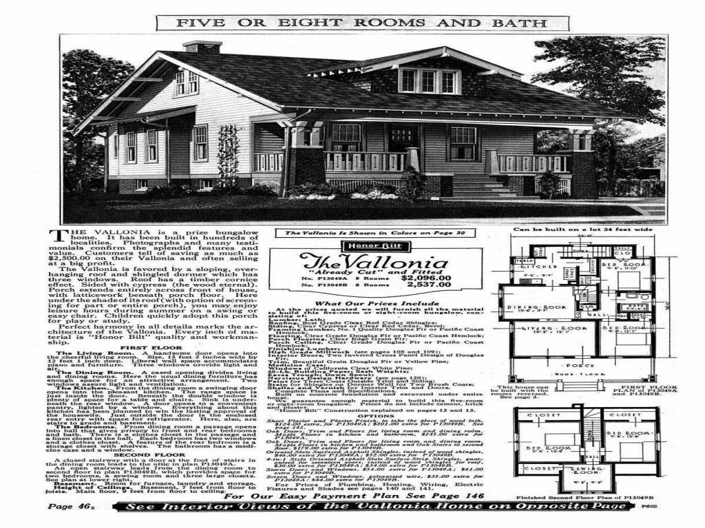 Sears kit house plans old sears roebuck home plans for Kit home floor plans