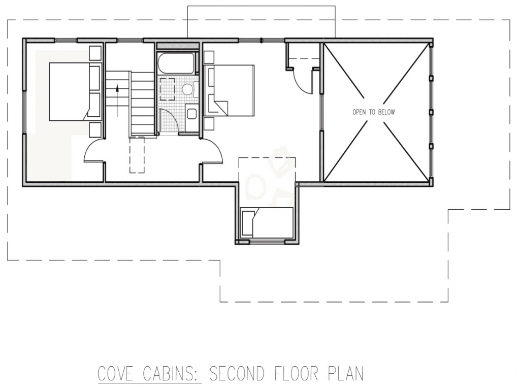 Small hunting cabin floor plans small cabin interiors for Hunting lodge floor plans