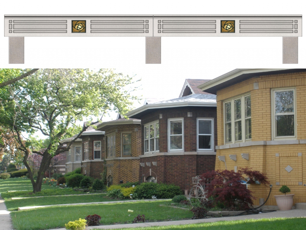 Chicago bungalow style homes bungalow style house home for Chicago bungalow house plans