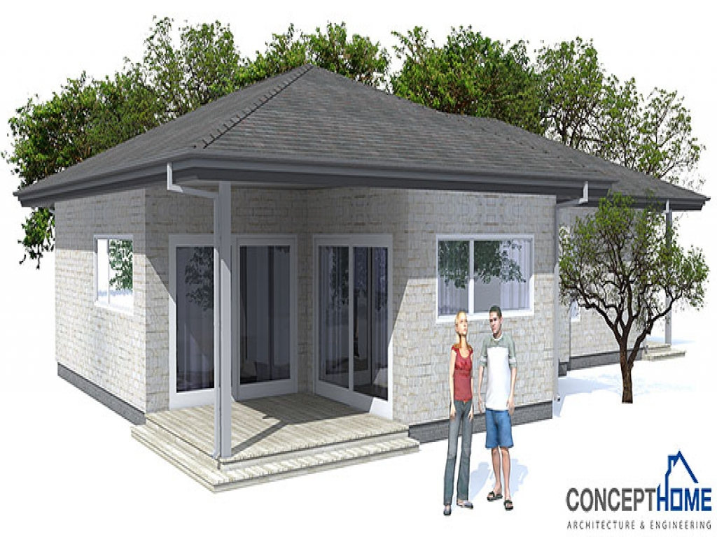 Low cost modern house plan eco modern house plans modern for Scrivanie design low cost