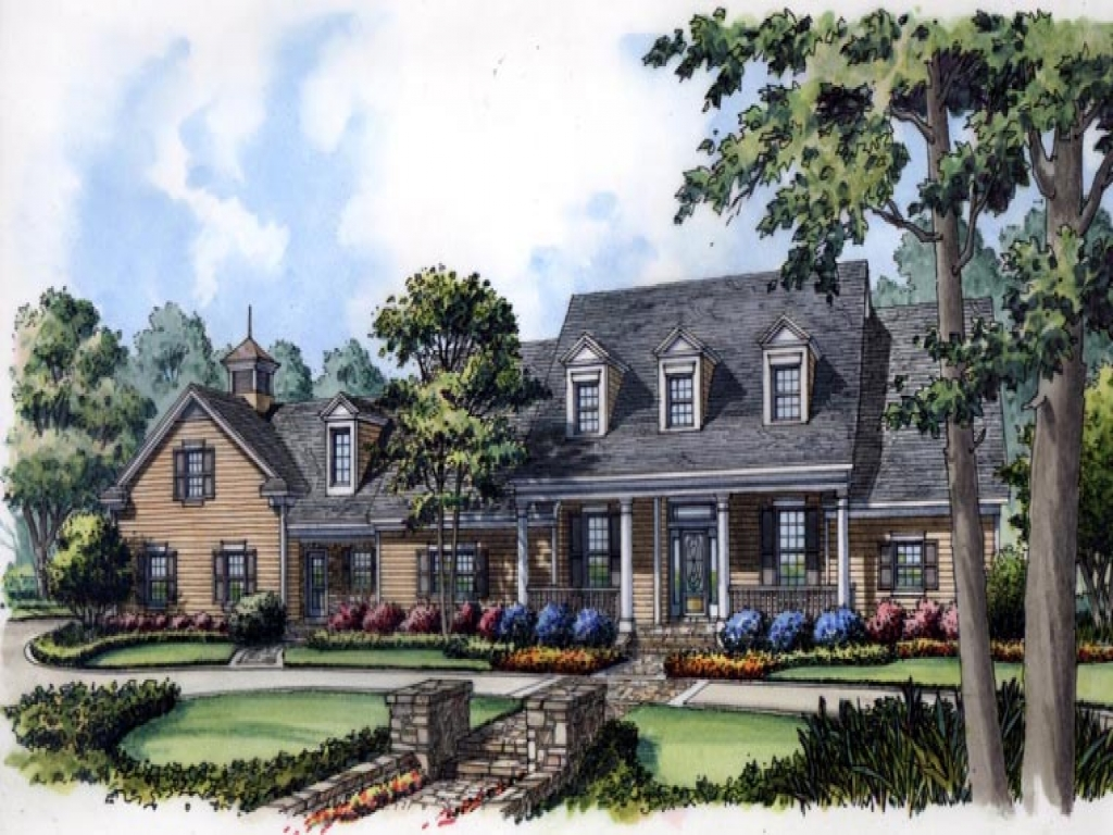 Cape cod colonial house plans new england cape cod for Colonial cape