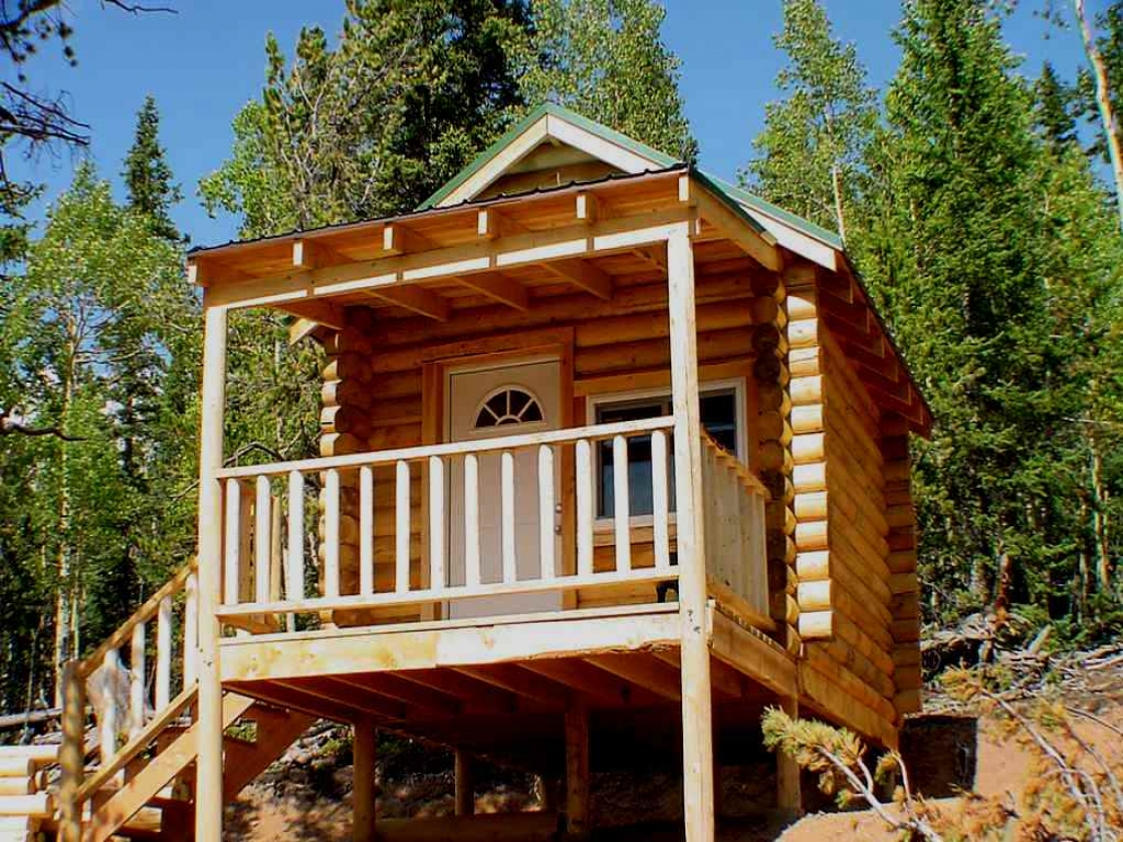 Tiny Home Designs: DIY Small Log Cabin Kits Build Small Off-Grid Cabin, Diy