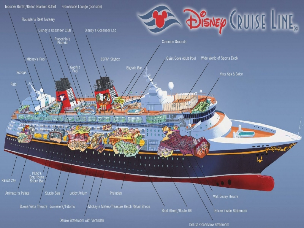 Disney Dream Cruise Ship Deck Plans Carnival