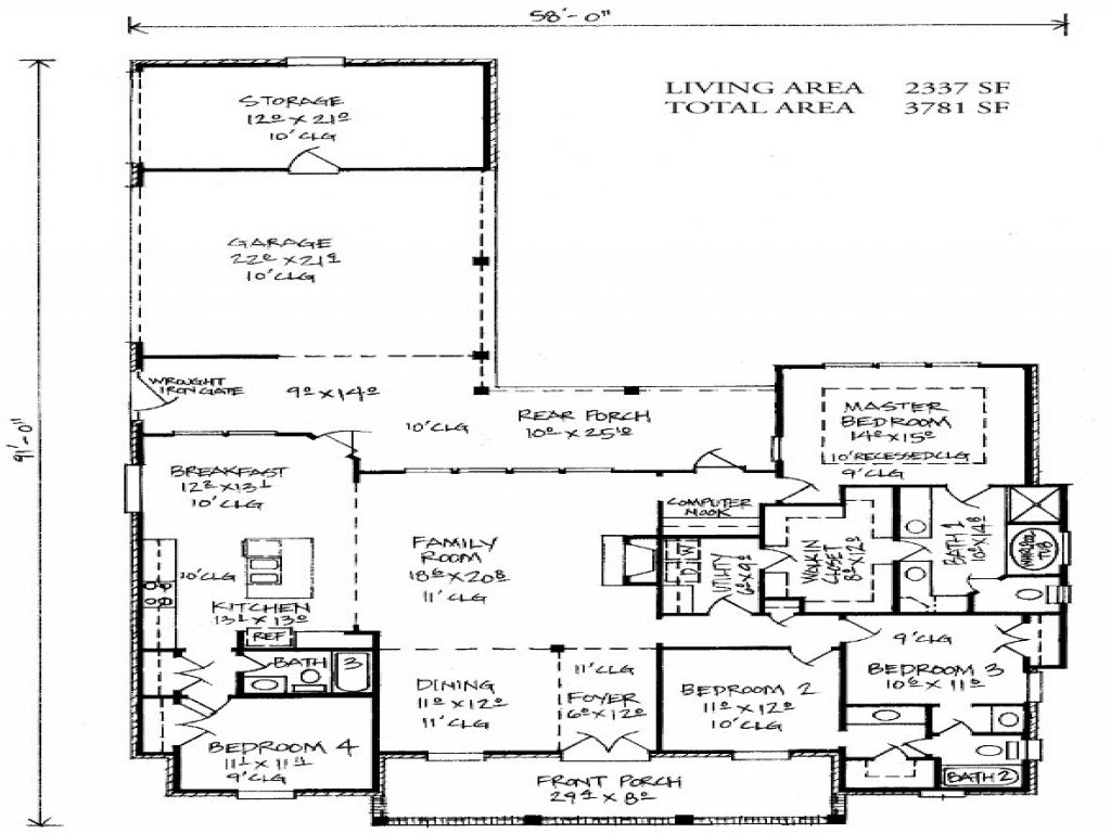 French country louisiana house plans french country houses for French country ranch house plans