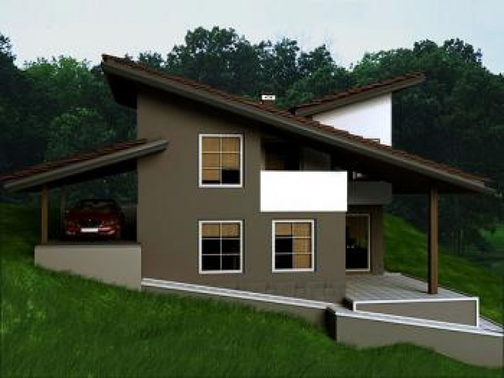 Contemporary country design country modern house design for Modern contemporary house plans