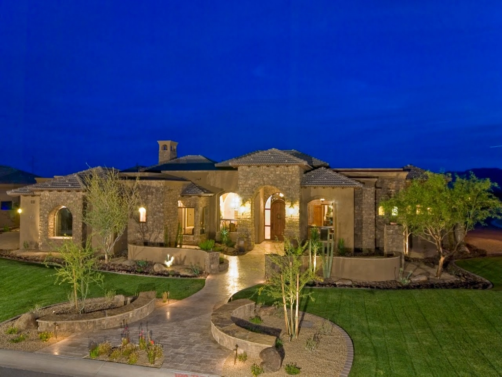 Luxury homes house plans luxury mansion home plans home for Luxury home builders usa