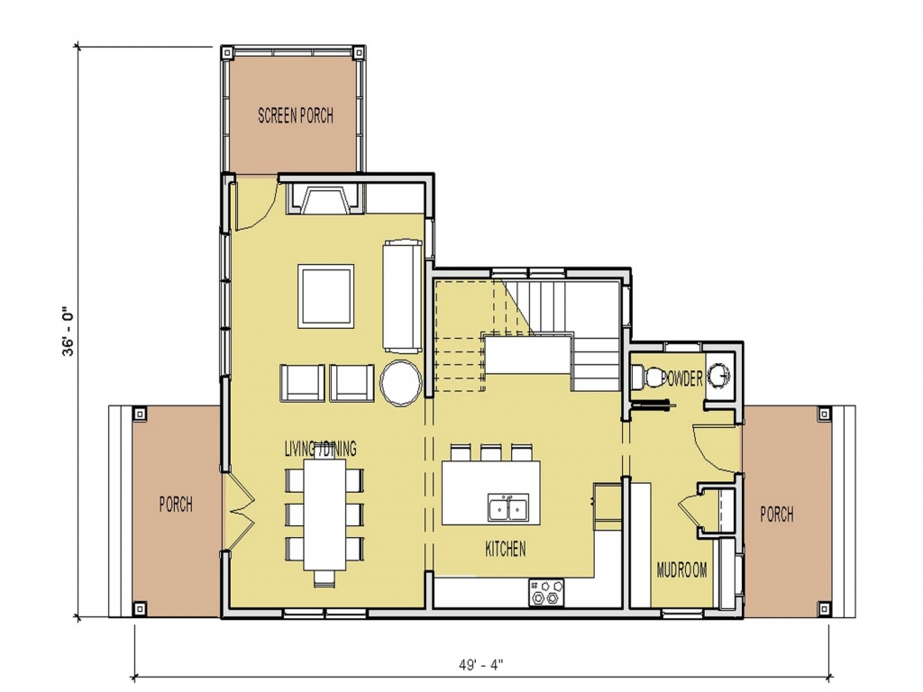 Small house floor plans under 1000 sq ft unique small for Small cool house plans