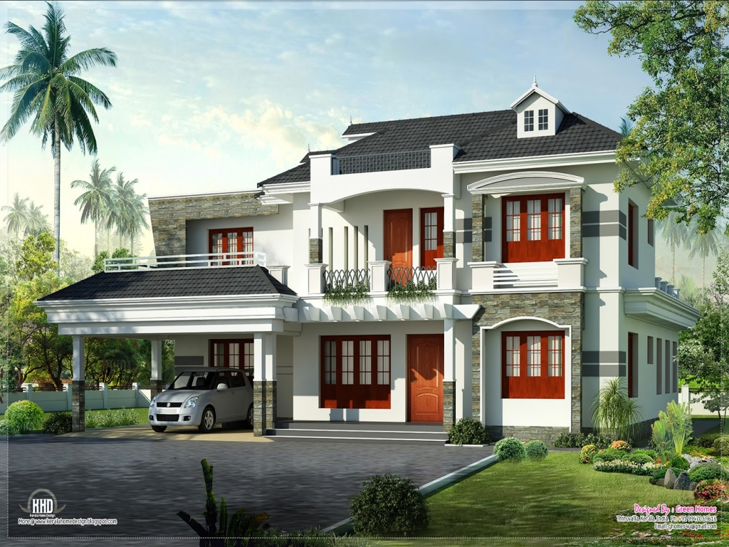 New kerala home designs kerala house designs philippines for New kerala house models