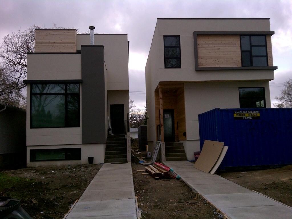 Modern Traditional Modern Contemporary Narrow Lot House ...