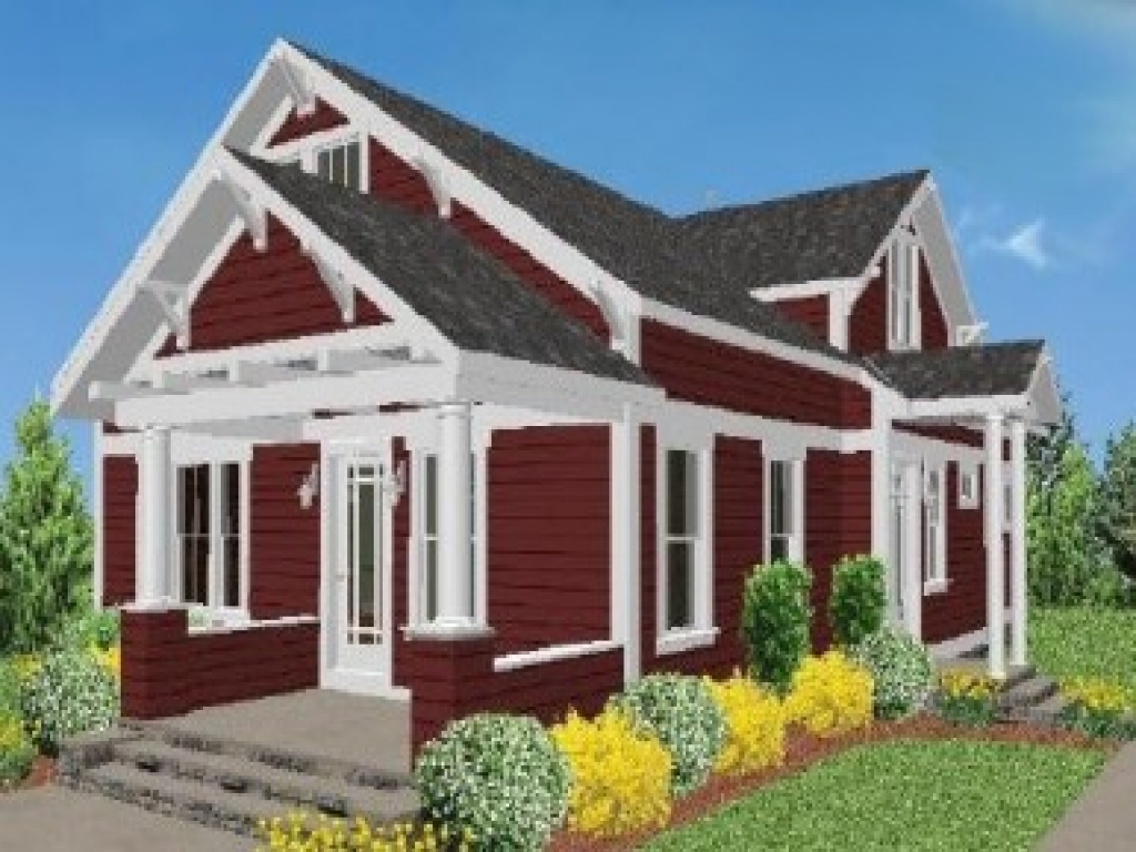 Modular craftsman bungalow style homes craftsman style for Small craftsman cottage plans