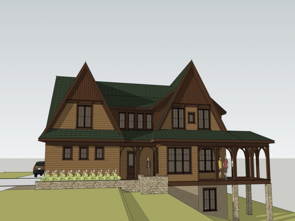 Luxury craftsman home custom craftsman home designs for Craftsman luxury homes