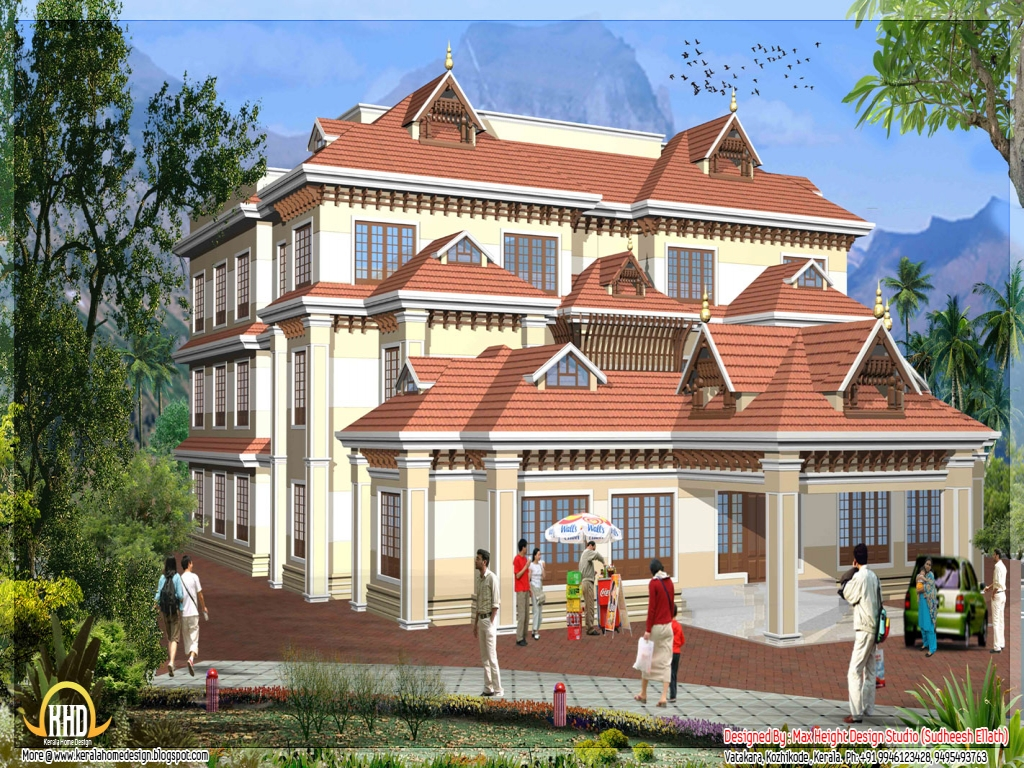 New kerala house models kerala style house models house for Kerala new model house plan