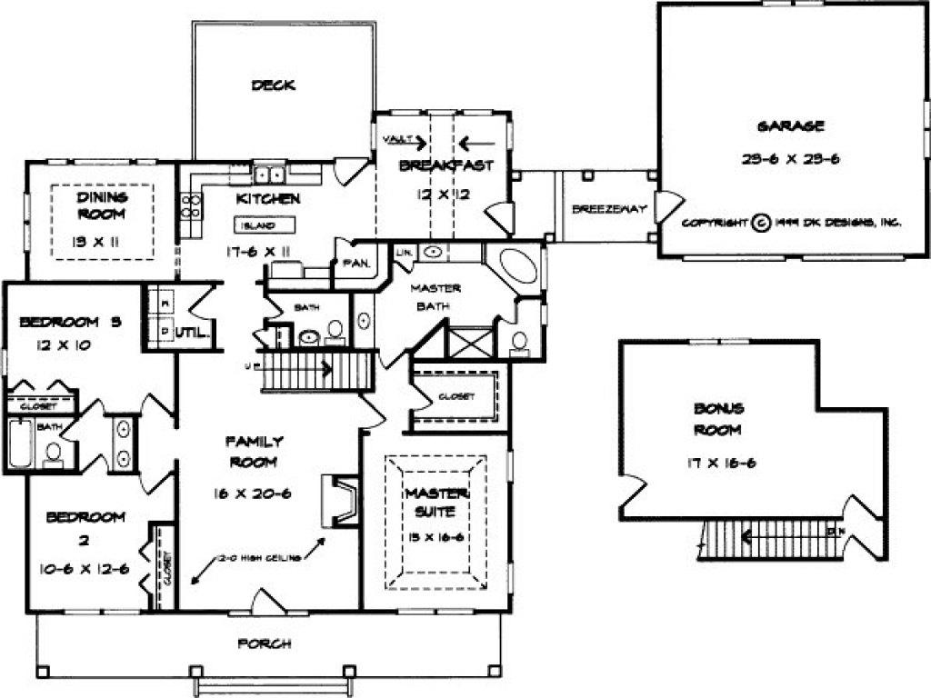 Classic southern city homes classic southern home floor for City house plans