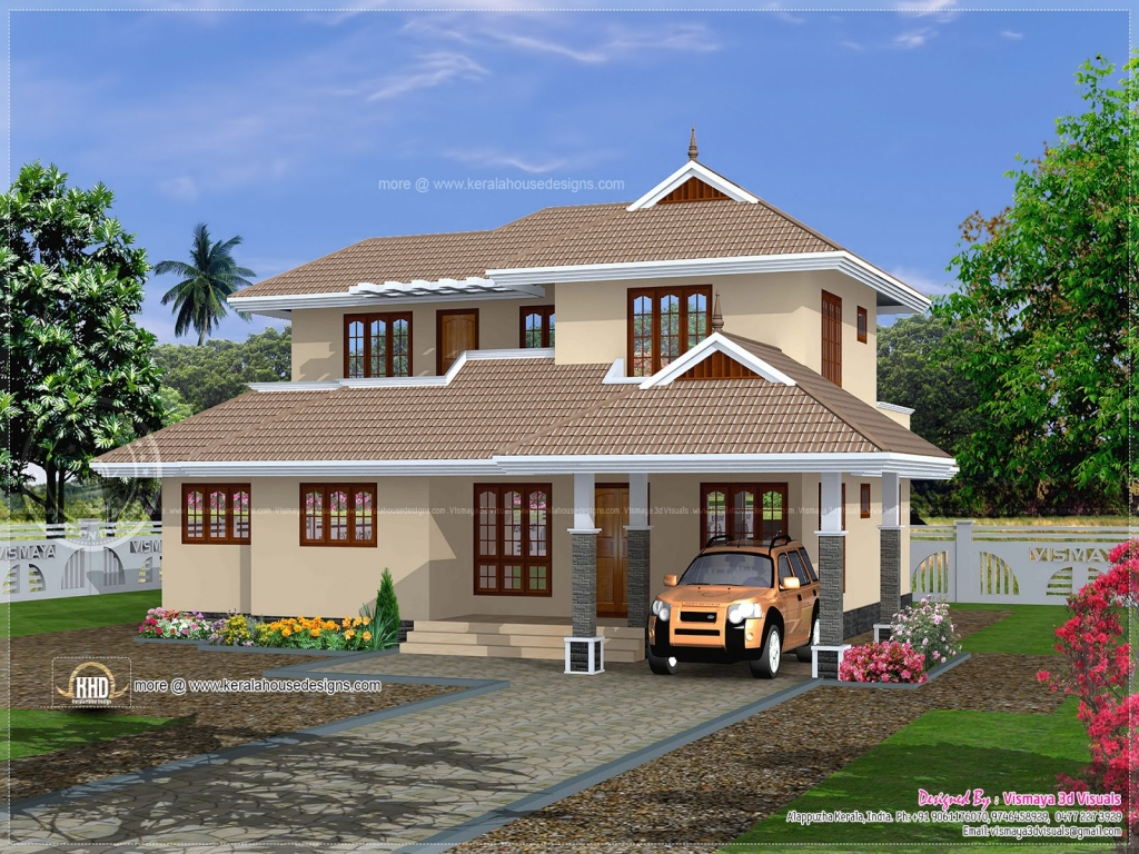 Simple kerala home plans traditional southern house plans for Traditional southern house plans