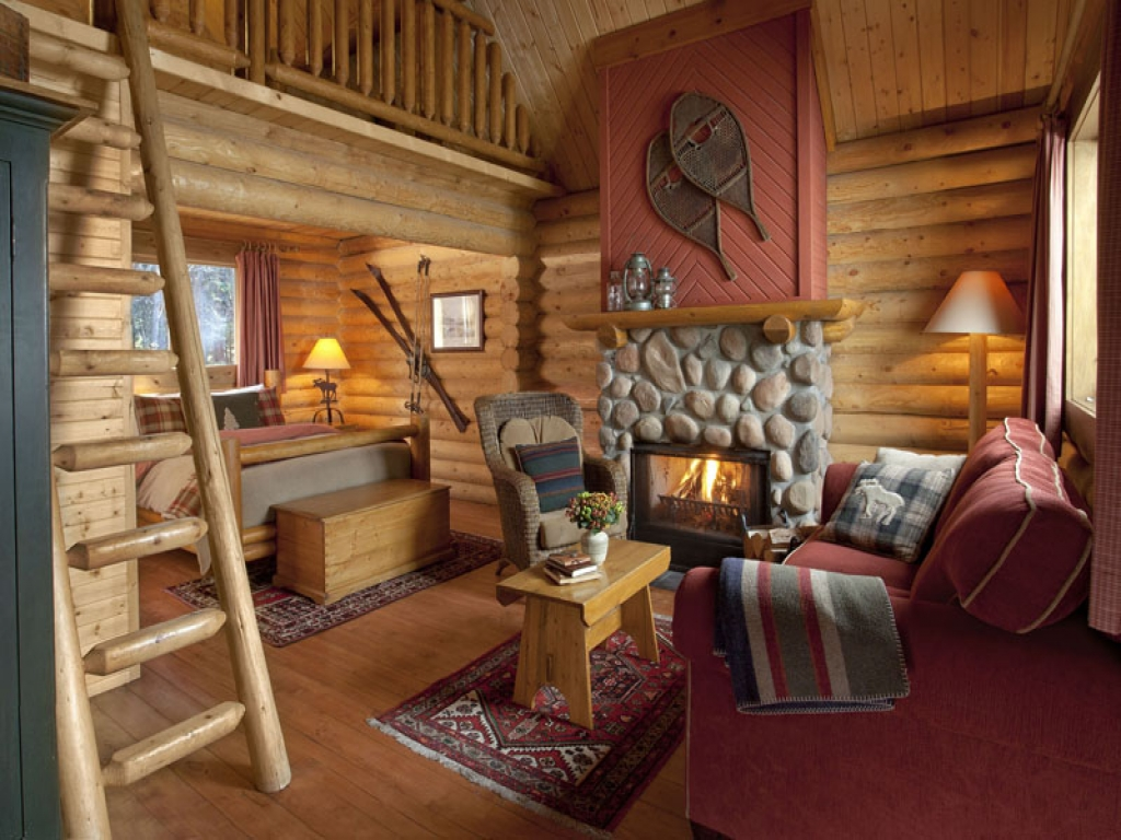 Small Cabin With Loft Interior Designs Cabin Floor Plans