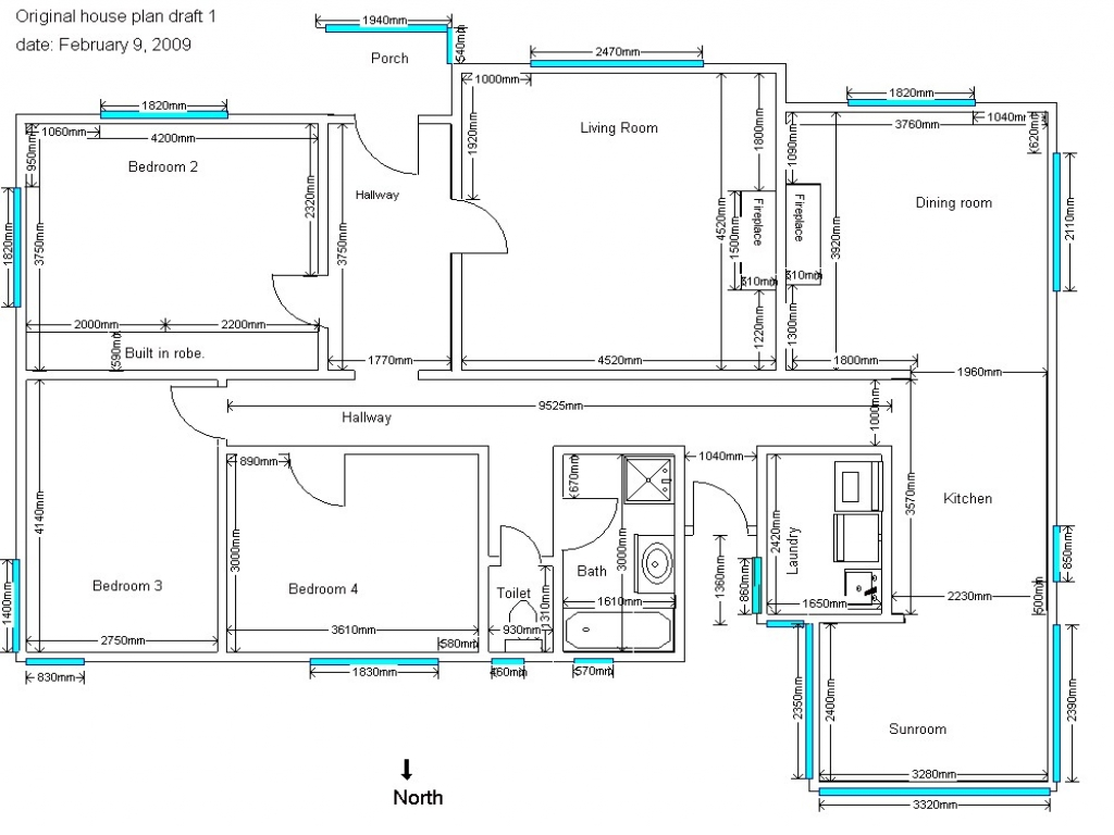 4 bedroom house plans sample house plans drawings  house drawings plans