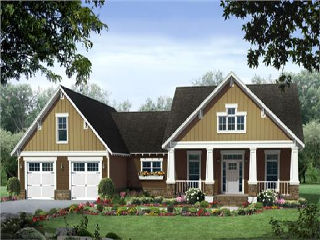 Craftsman style house plans craftsman house plans ranch for Craftsman style ranch house plans