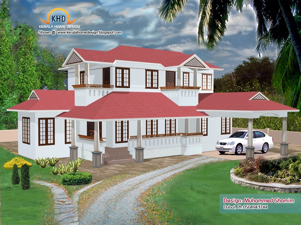 Kerala house photo gallery new model kerala house plans for New home photo gallery