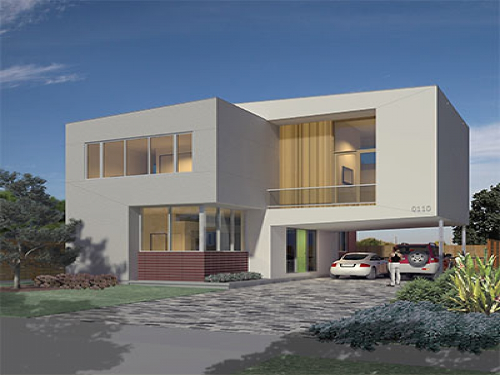 Unique small house plans small modern house plans home designs modern small homes for Small house design ideas plans