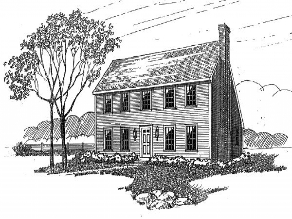 Saltbox house plan saltbox colonial homes pinterest for Modern colonial house plans