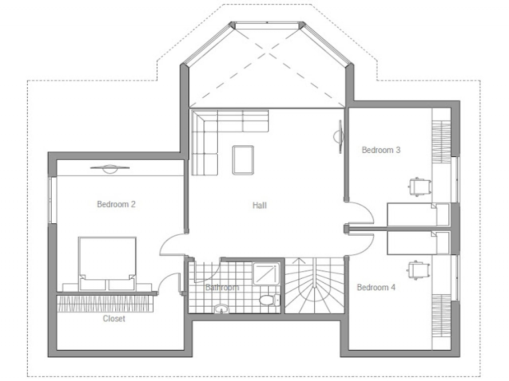 simple small house floor plans small affordable house plans lrg 89dd76c2bce12441 - 22+ Simple Small House Design With Floor Plan  Background