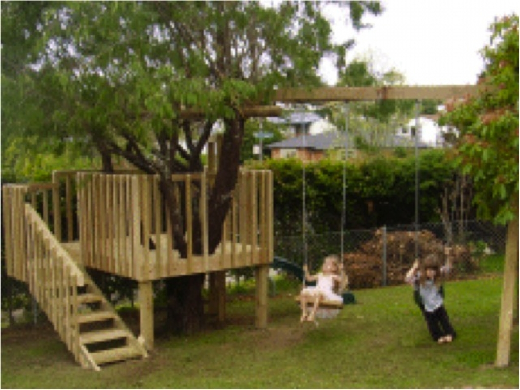 Do It Yourself House Plans: Tree House Hotel Tree House And Swing Set Plans, Do It