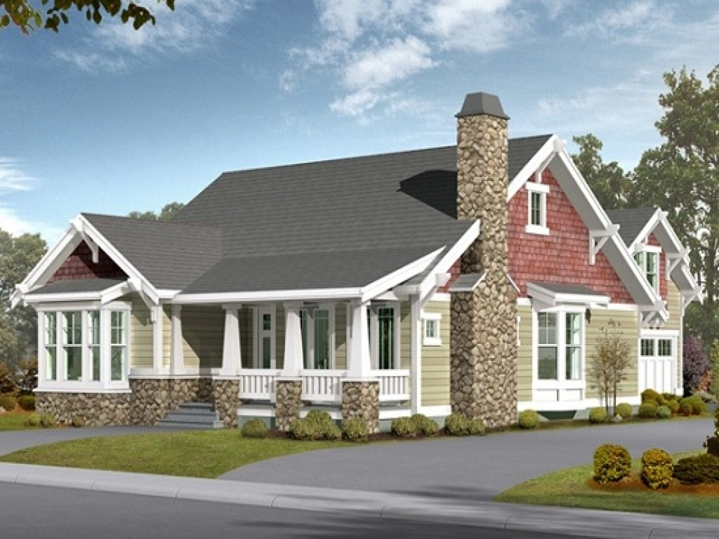 Craftsman House Plans With Basement Craftsman House Plans