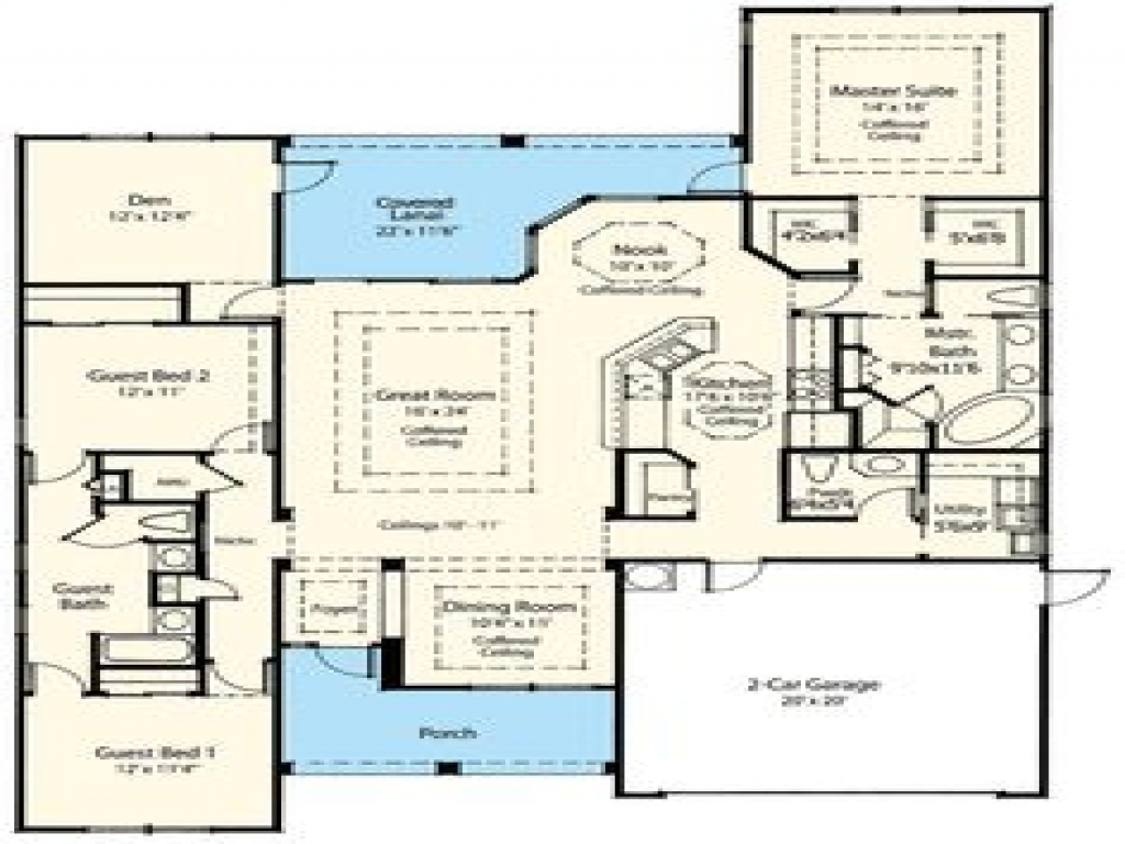 28 x 50 narrow lot house plans wine bar design lake home for 50 50 house plan